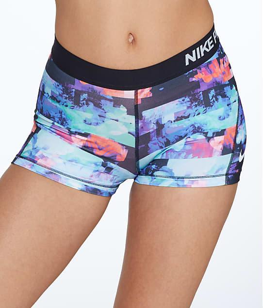 Nike: Pro 3'' Printed Shorts