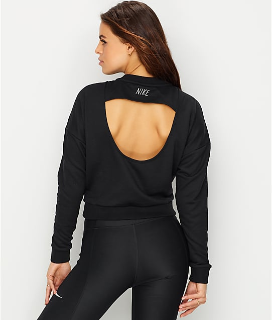 Nike: Dri-Fit Cropped Training Top