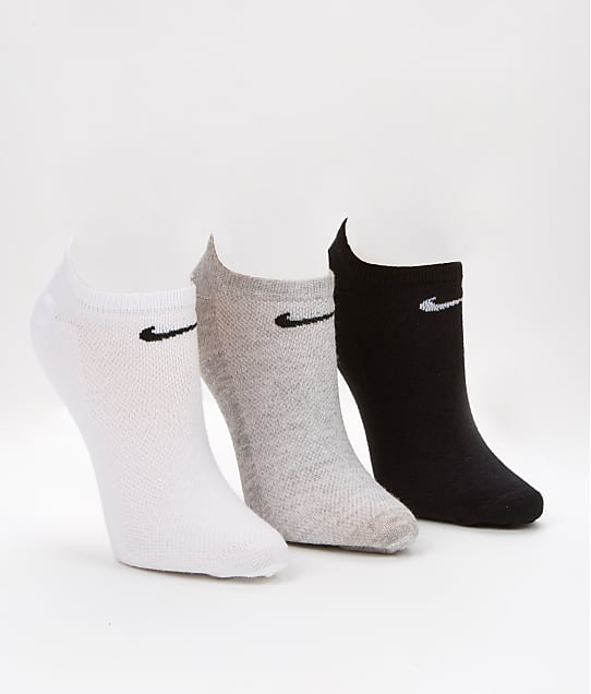 Nike: Lightweight No-Show Socks 3-Pack
