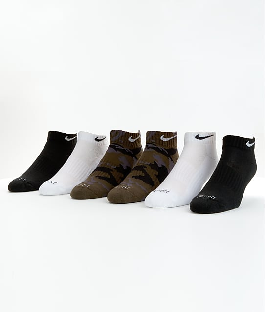 Nike: Dri-FIT Cushion Low Cut Sport Socks 6-Pack