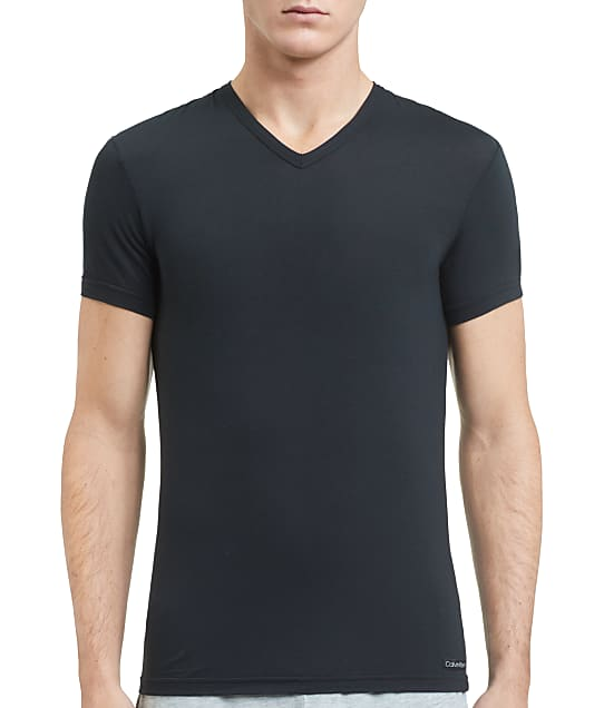 Calvin Klein: Ultra-Soft Modal V-Neck T-Shirt