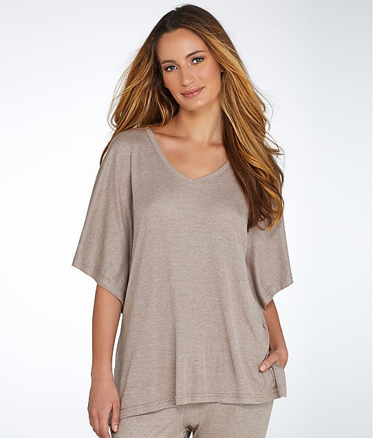 N Natori: Caftan Lounge Top