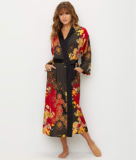 N Natori: Forbidden City Satin Robe