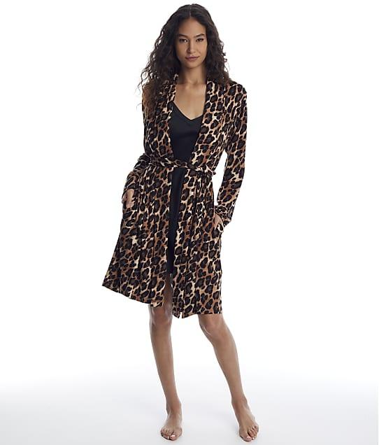 N Natori: Ombre Leopard Plush Robe