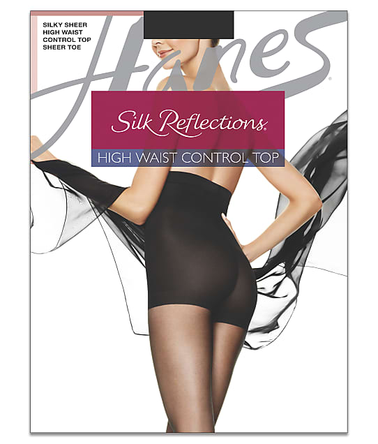 Hanes: Silk Reflections High-Waist Control Top Pantyhose