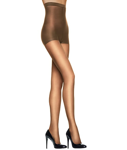 Hanes Silk Reflections High-Waist Control Top Pantyhose in Barely There OB184