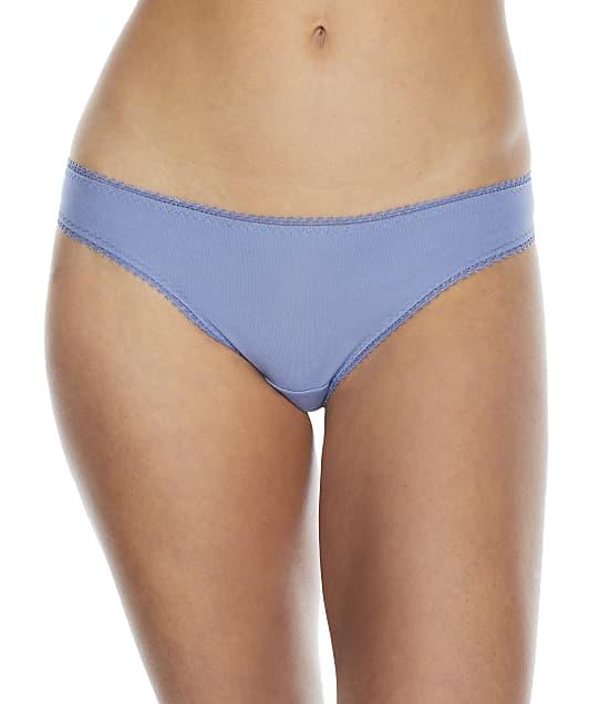 OnGossamer Cabana Cotton Hip Bikini in Blue Mist 1402
