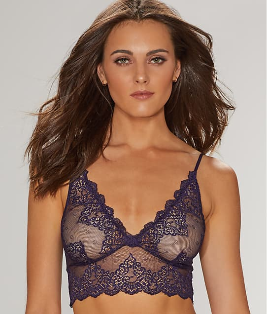 Only Hearts: So Fine Lace Longline Bralette