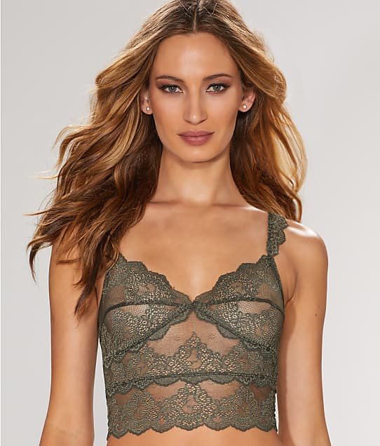 Only Hearts: So Fine Lace Cropped Camisole