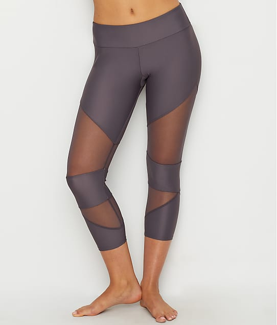 Onzie: Mesh Cut-Out Capri