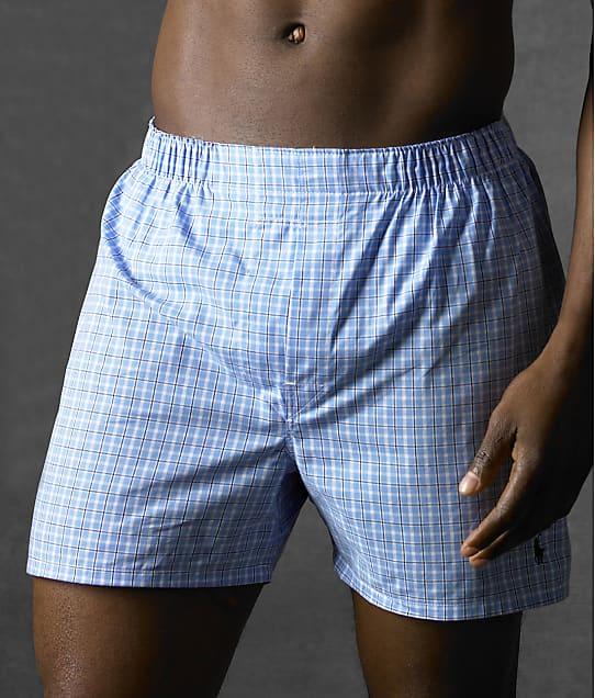 Polo Ralph Lauren: Classic Woven Boxer 3-Pack