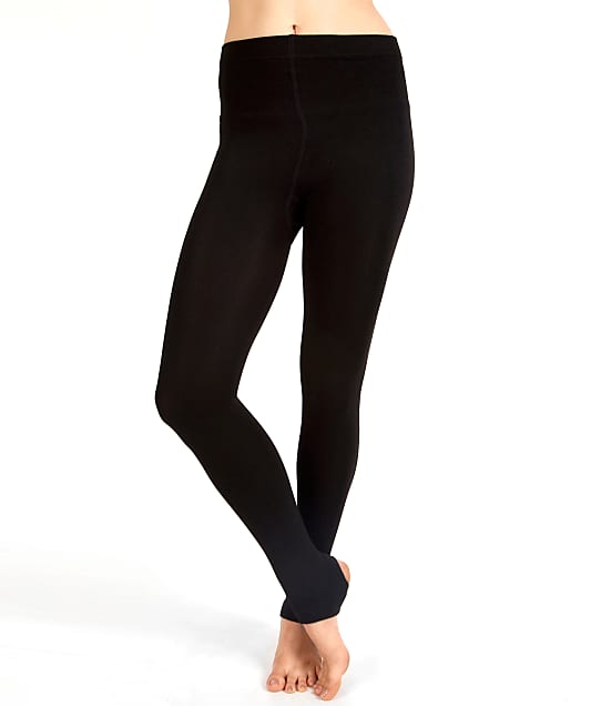 Plush: Fleece Lined Stirrup Tights