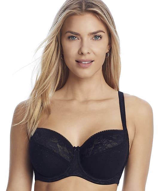 Panache Olivia Balconette Bra in Black(Front Views) 7751