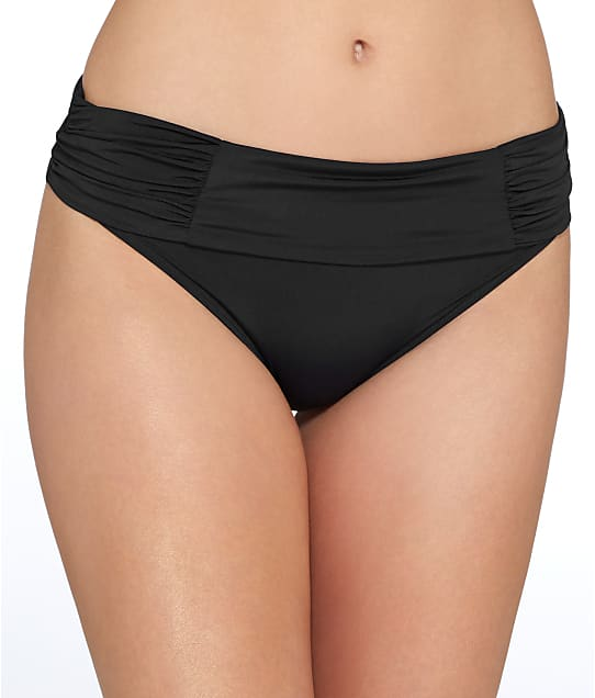 Foldover bikini bottom