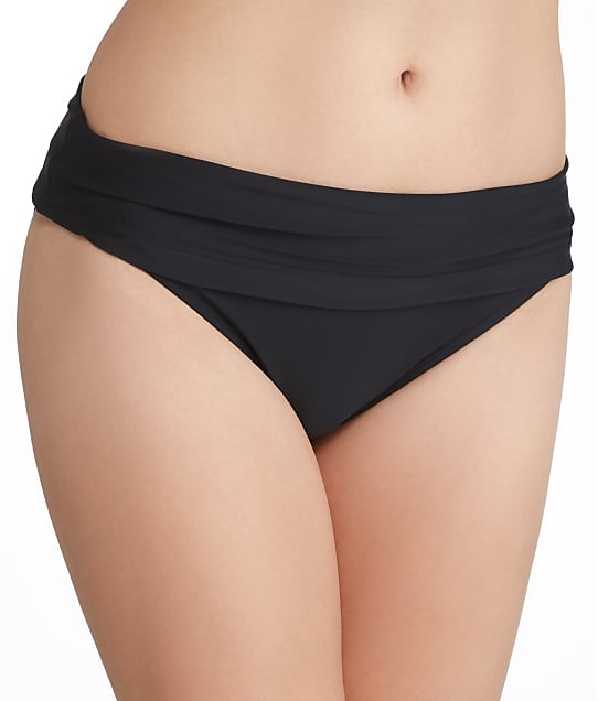Panache: Anya Solid Fold-Over Bikini Bottom