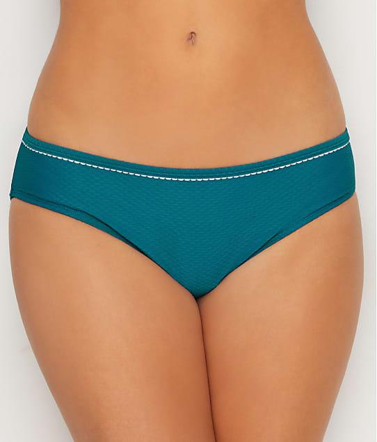 Panache Anya Voyage Classic Bikini Bottom in Lagoon / White SW1046