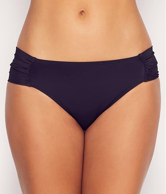 Panache Anya Riva Gathered Bikini Bottom in Black(Front Views) SW1306