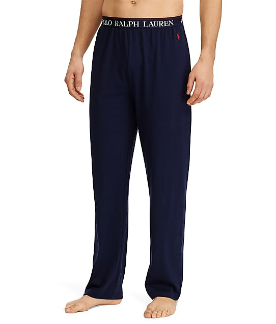 Polo Ralph Lauren Supreme Comfort Knit Lounge Pants in Cruise Navy(Front Views) PC47RL