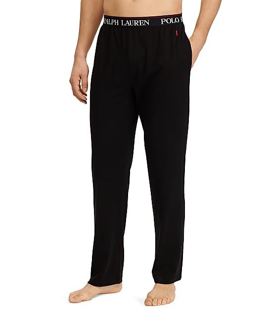Polo Ralph Lauren Supreme Comfort Knit Lounge Pants in Polo Black PC47RL