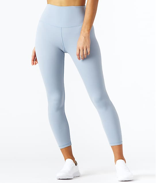 Glyder Pure 7/8 Leggings in French Blue(Front Views) PDP-Z032