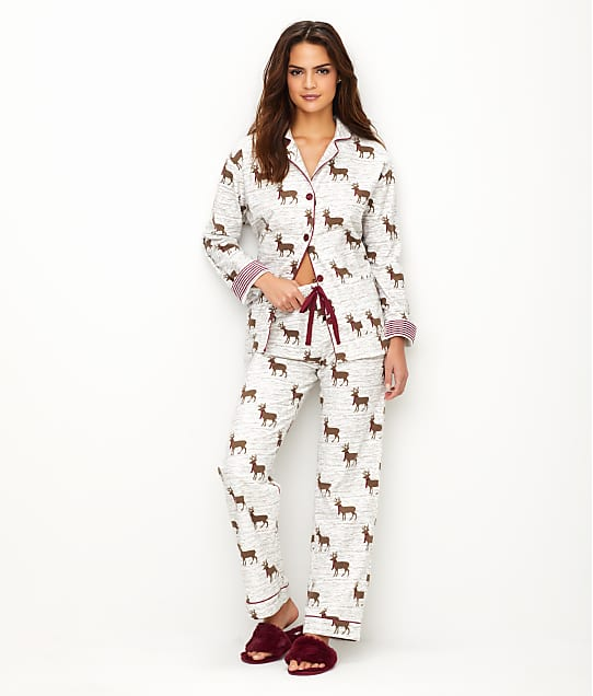 P.J. Salvage: Deerly Loved Flannel Pajama Set
