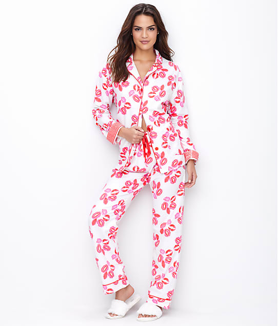 P.J. Salvage: Lips Flannel Pajama Set