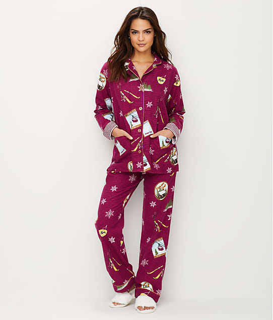 P.J. Salvage: Ski School Flannel Pajama Set