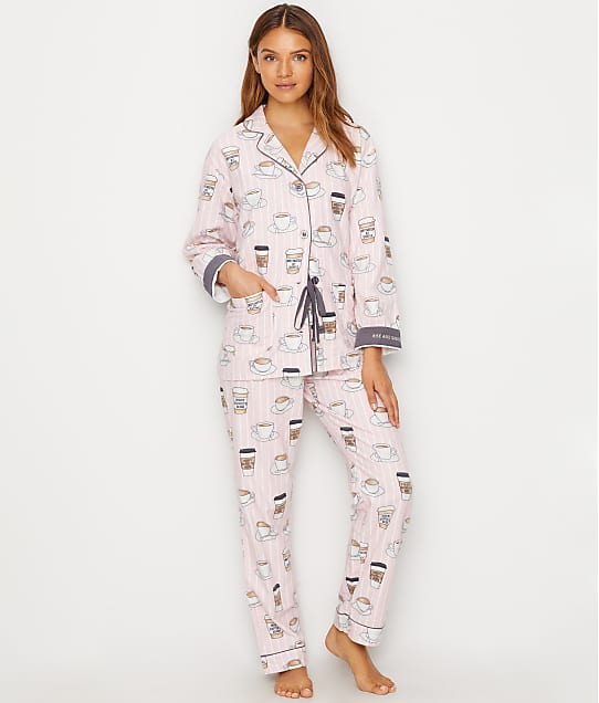 eabd4820a919 P.J. Salvage Rise   Grind Flannel Pajama Set