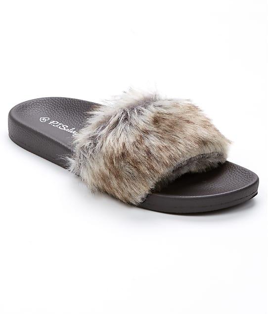 P.J. Salvage Faux Fur Slide Slippers