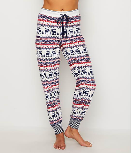 Pj Salvage Winter Escape Fair Isle Fleece Pajama Pants Bare