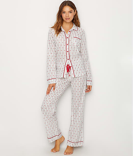 P.J. Salvage: Amour Mini Heart Woven Pajama Set