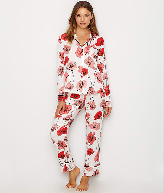 P.J. Salvage: Floral Woven Sateen Pajama Set