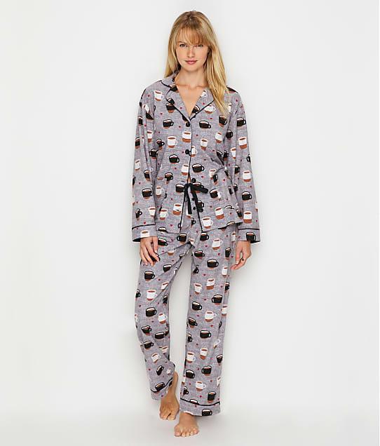 P.J. Salvage: Coffee Is Life Flannel Pajama Set