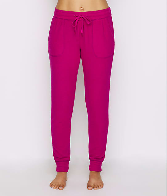 P.J. Salvage Peachy Jersey Knit Joggers in Magenta RPPEP