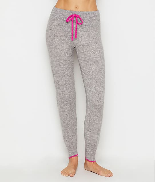 P.J. Salvage Sweater Knit Cozy Jogger in Heather Grey RQSWP