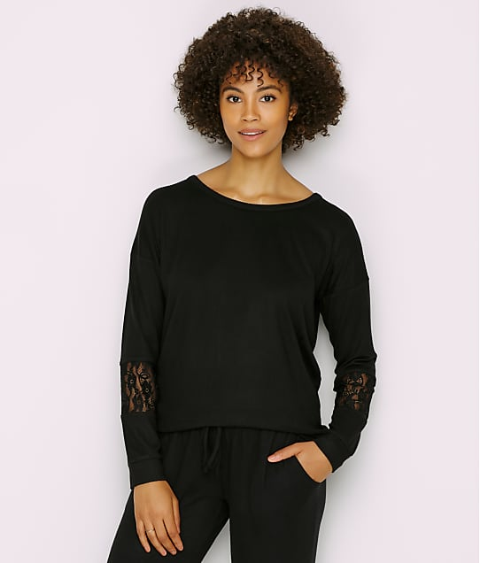 P.J. Salvage: Heart To Heart Sweater Knit Lounge Top