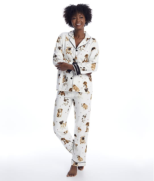 P.J. Salvage: Dog Mamma Flannel Pajama Set
