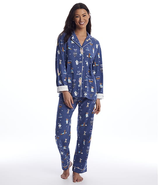 P.J. Salvage: You Had Me At Shalom Flannel Pajama Set