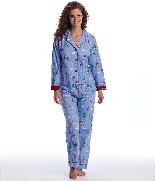 P.J. Salvage: I Need Vitamin Ski Flannel Pajama Set