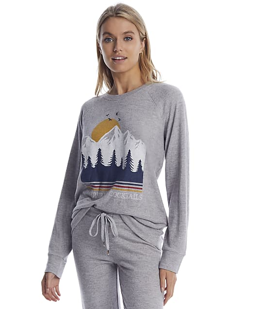 P.J. Salvage: Let's Get Toasty Knit Lounge Top