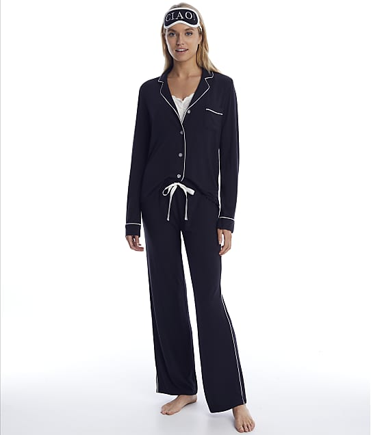 P.J. Salvage: Modal Black Pajama Set