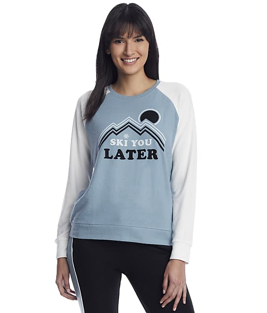 P.J. Salvage: Ski You Later Knit Lounge Top