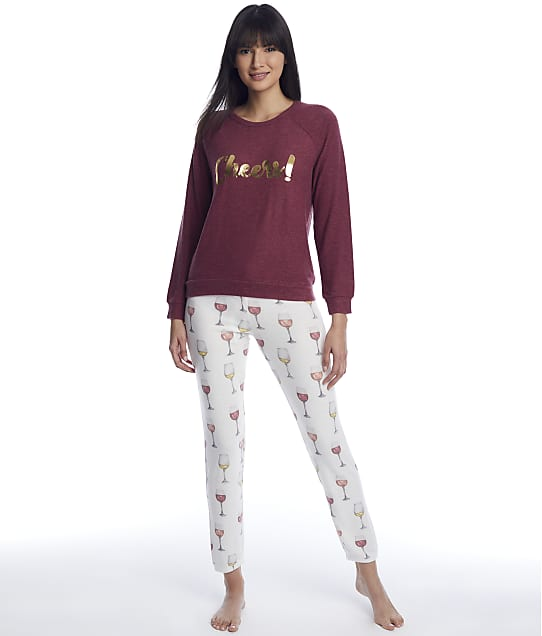 P.J. Salvage: Wine Time Knit Pajama Set