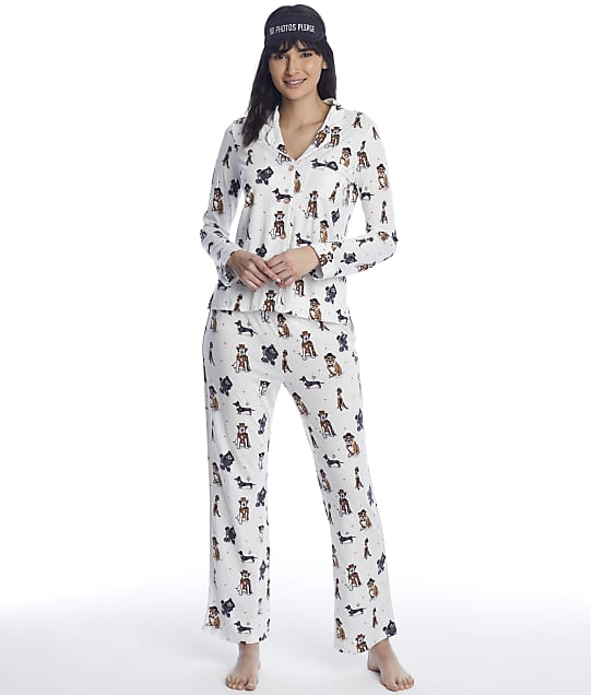 P.J. Salvage: Dogs Modal Knit Pajama Set