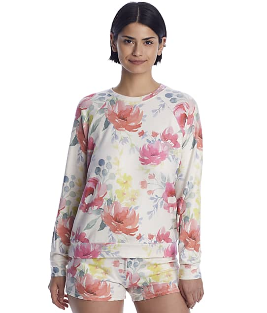 P.J. Salvage: Happy Blooms Knit Lounge Top