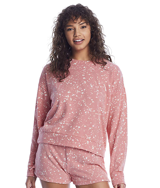 P.J. Salvage: Dream On Dreamer Terry Pullover Lounge Top