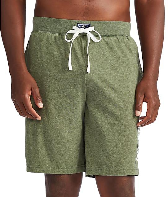 Polo Ralph Lauren Knit Sleep Shorts in Moss Green / Nevis PK21SR