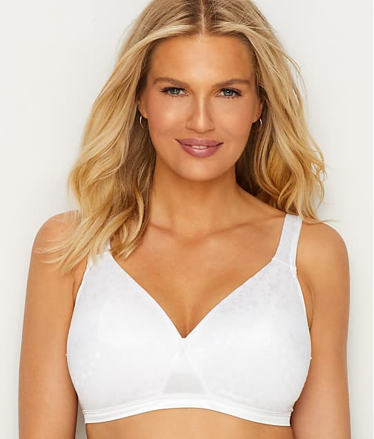 Playtex Cross Your Heart Wire-Free Bra in White 4210