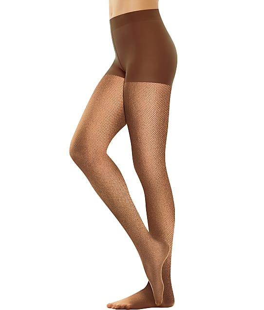 Hanes: Perfect Nudes Micro-Net Control Top Pantyhose