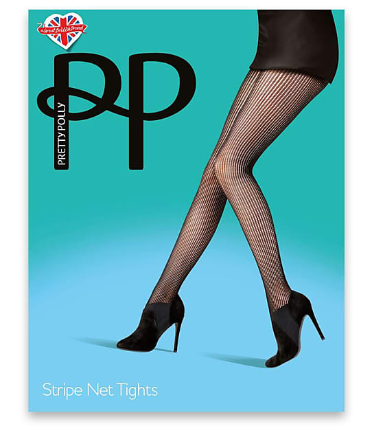 Pretty Polly: Stripe Net Tights